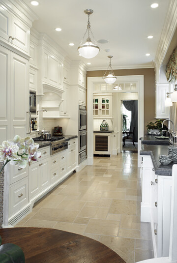 Accents Like Light Fixtures, Hardware, And Decor Can Really Shine Against A  White Kitchen. White Cabinets Also Allow Flexibility To Rotate Styles  Easily As ...