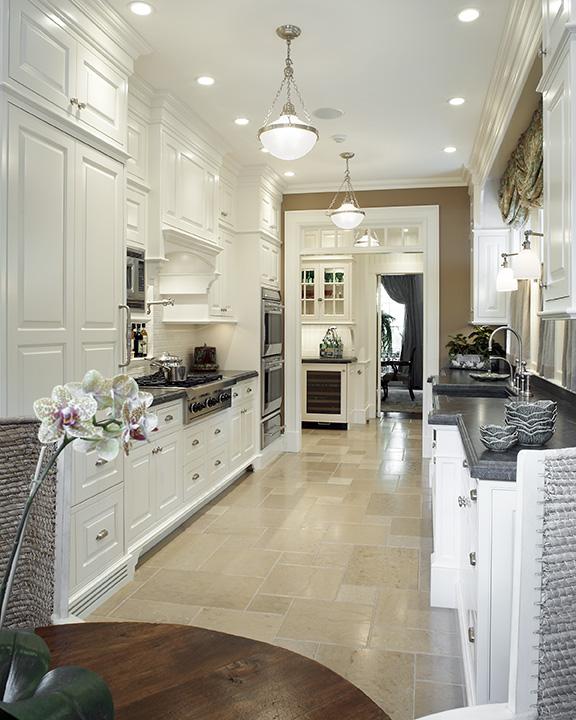 Galley Kitchen Design Idea
