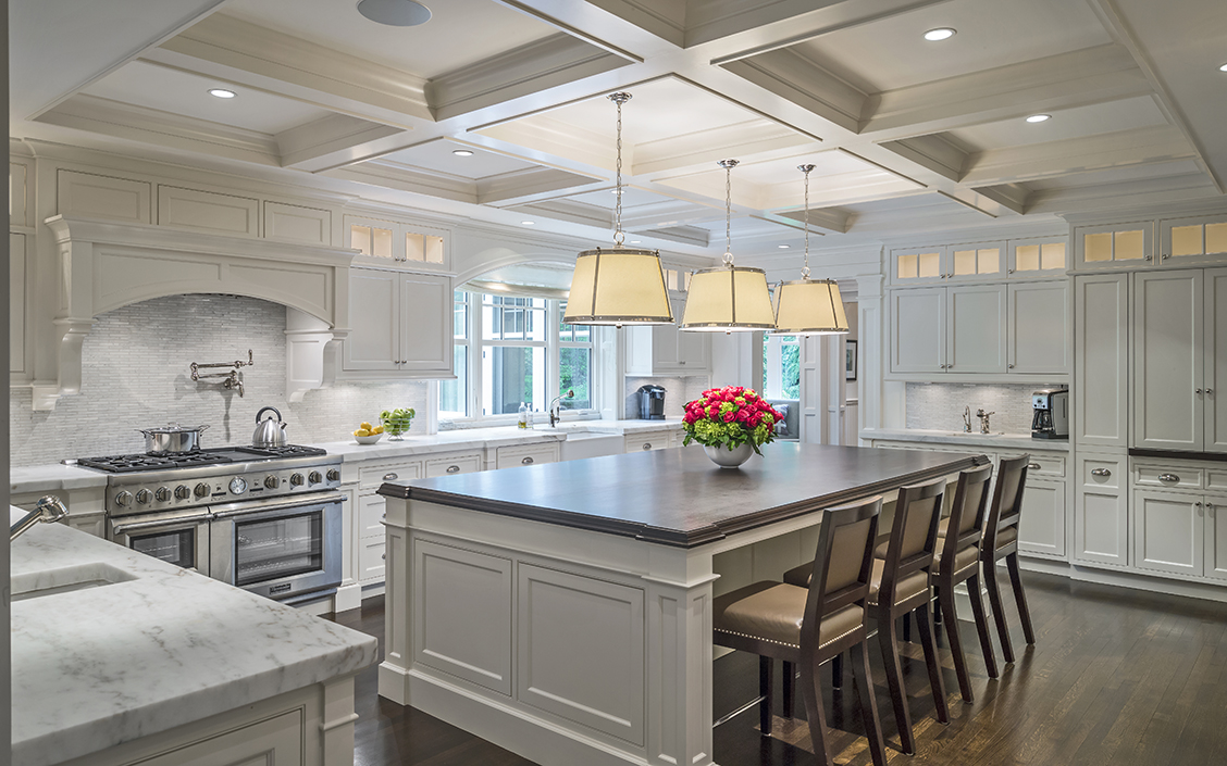 Are white kitchen cabinets right for you for Classic timeless kitchen designs