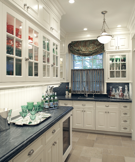 interior or newly designed kitchen
